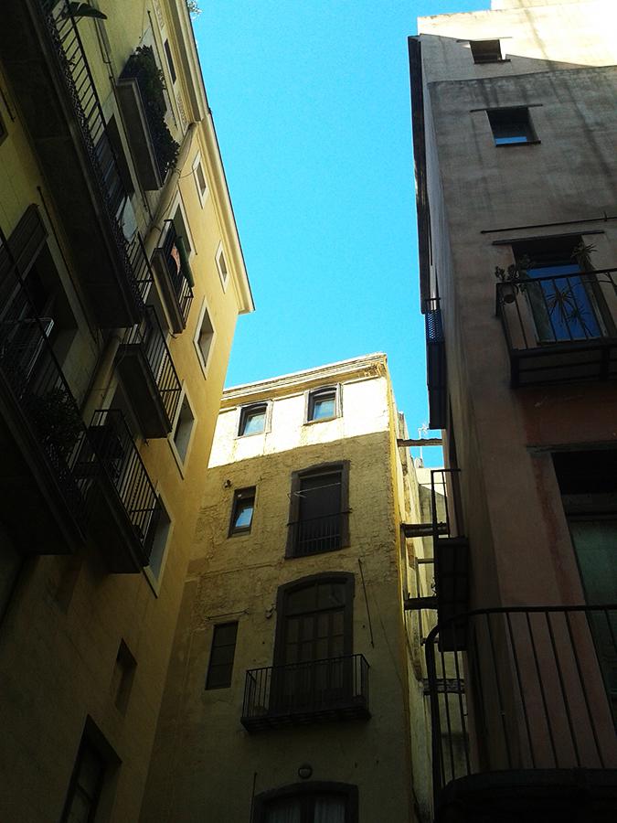 Reforma en el casco antiguo de Barcelona