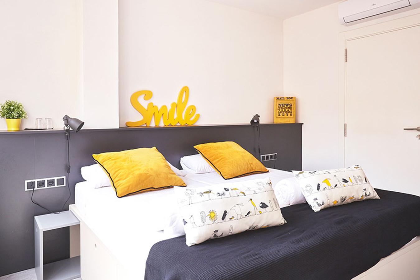 cabezal cama doble