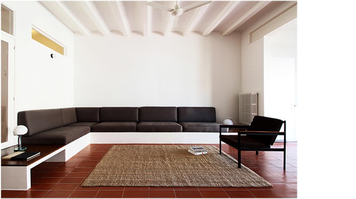 salón sofá de pladur